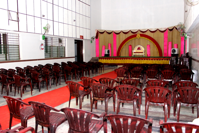 MARRIAGE & MEETING HALL